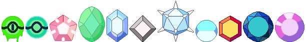 Steven Universe Gem Monsters   Steven Universe Corrupted/Other Gems by Neveroff7