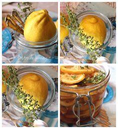 Sirop Citron-gingembre-miel-thym la potion magique