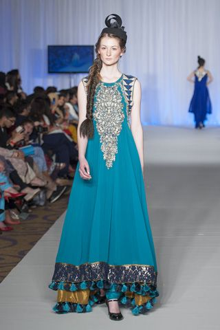 Gul Ahmed Collection at Pakistan Fashion Week London 2013