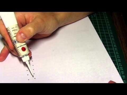 элементы точечной росписи - YouTube