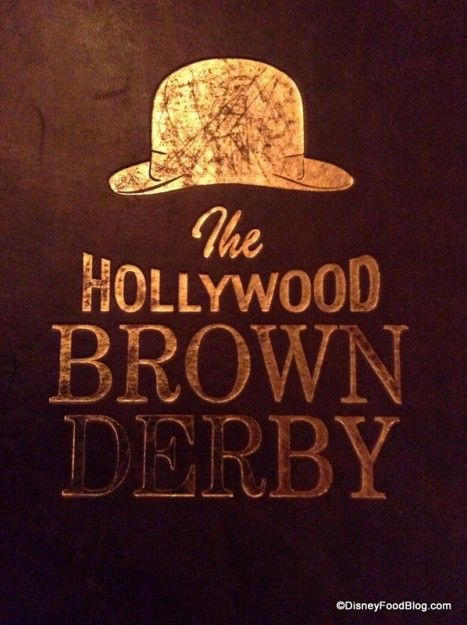 Review: Lunch at The Hollywood Brown Derby in Disney's Hollywood Studios   the disney food blog
