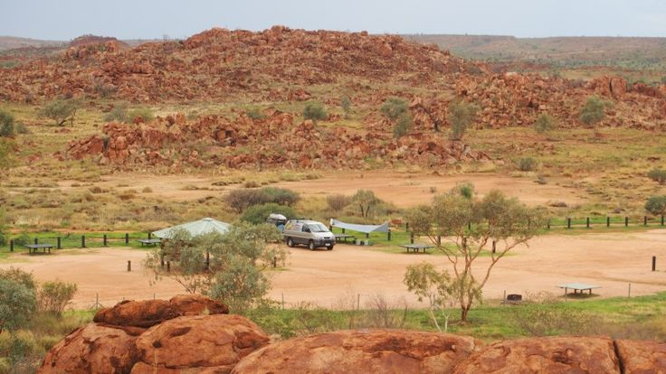 Devils Marbles is one of the most interesting places we camped at - Northern Territory
