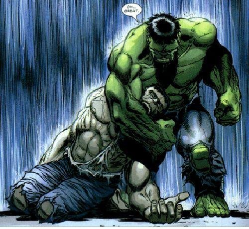 Hulk vs. Hulk by Lee Weeks
