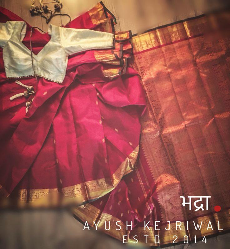 Kanjiveram silk by Ayush Kejriwal or purchases email me at…