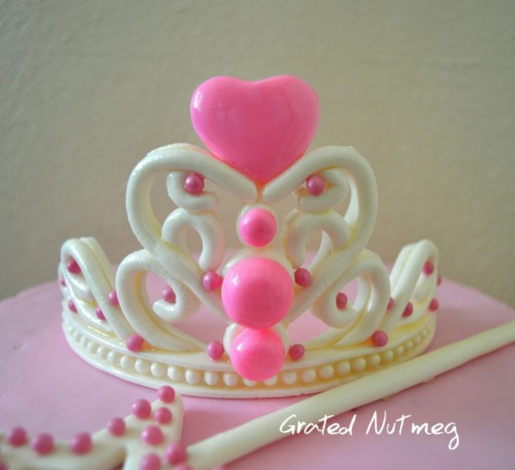 fondant crown tutorial