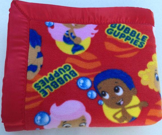 Nickelodeon Bubble Guppies Doublesided Fleece By Www