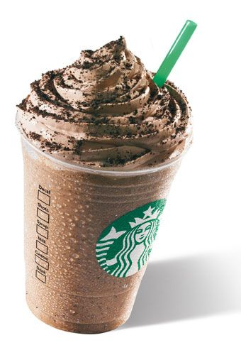 Starbucks Mocha cookie crumble frappuccino.  SERIOUSLY....IM IN LOVE!!!!!!!!!!!!!!! <3<3<3<3. soooo goood