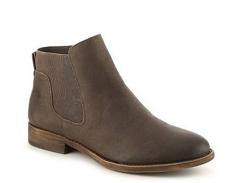 Franco Sarto Kabrina Chelsea Boot | DSW available in cognac & ash brown (ash brown shown in image). Available in Wide and Medium width. $79.95 DSW