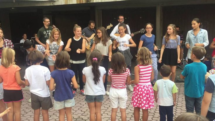 A La Zolla si canta con le ragazze delle medie
