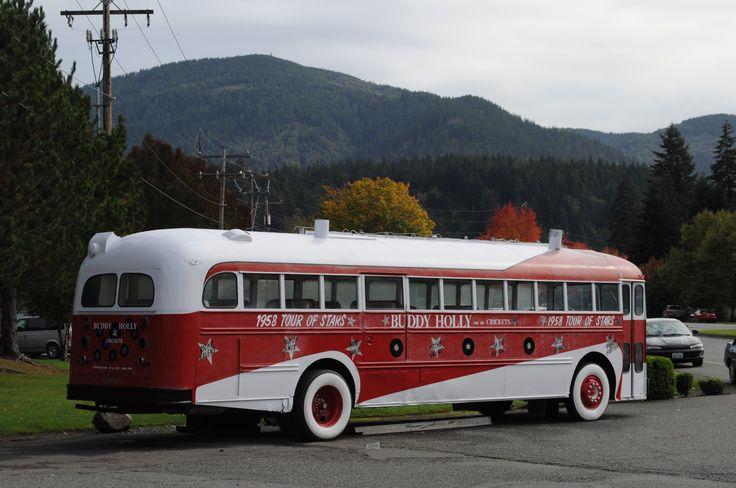 Buddy Holly bus
