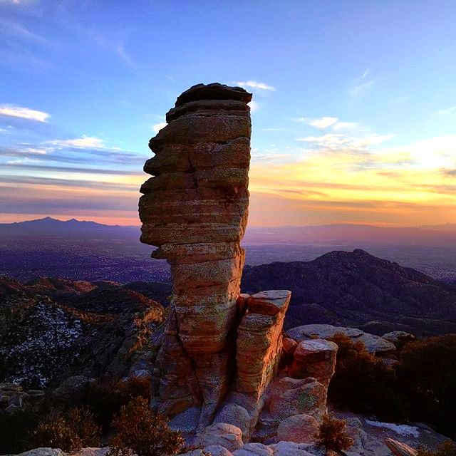 Windy Point Vista | Mt Lemmon | Tucson | Arizona | Photo via Instagram @amy_balbier