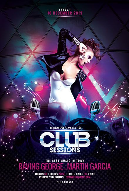 35 best Night club - posters images on Pinterest | Night club ...
