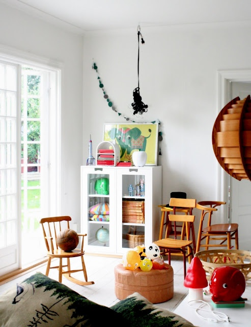 kids room - via Mokkasin