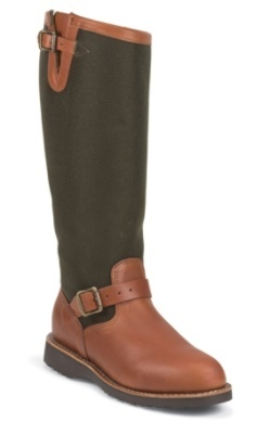 "Chippewa Boots #L23913 17"" 17"" BROWN EXPRESSO/VIPER® CLOTH SNAKE BT"