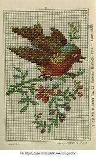 Free Easy Cross, Pattern Maker, PCStitch Charts + Free Historic Old Pattern Books: Sajou No 301
