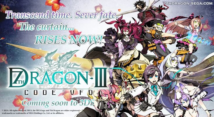 SEGA of America Reveals 7th Dragon III Code: VFD DLC Plans