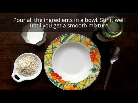 DIY Honey, Oatmeal and Milk Face Mask for Reducing Acne Inflammation - YouTube   lv.   Pinterest   Face, Homemade face masks and DIY