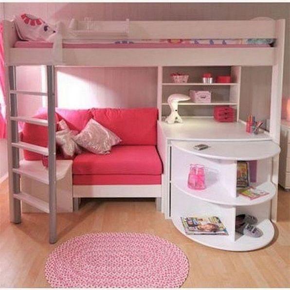30 The Lost Secret Of Dream Rooms For Teens Girls Bedrooms Loft Beds Decorincite Sofa Bed Design Bunk Bed With Desk Loft Bed