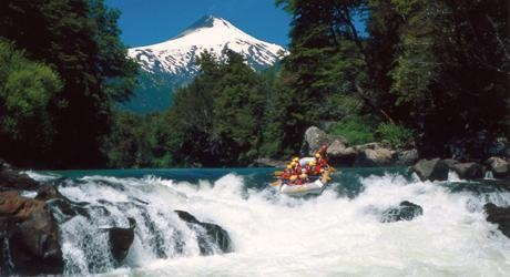 Pucon, Chile! We get to do rafting!