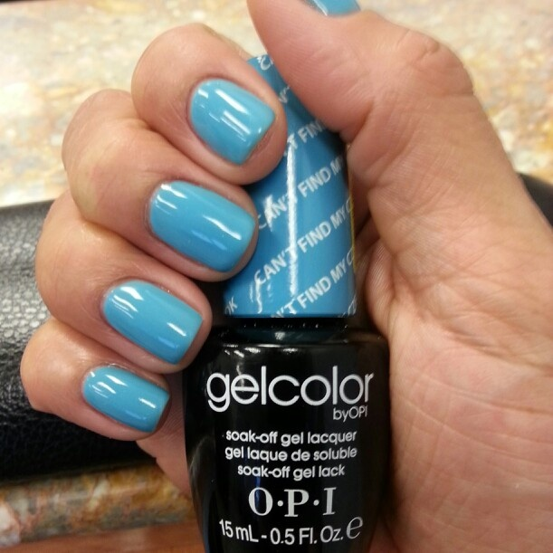 Opi Nail Polish Color Chart Blue - Creative Touch