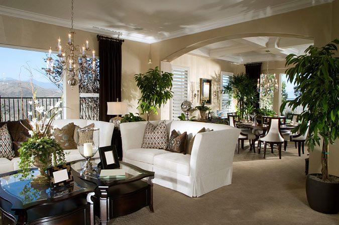 Elegant Hillside Home Decor