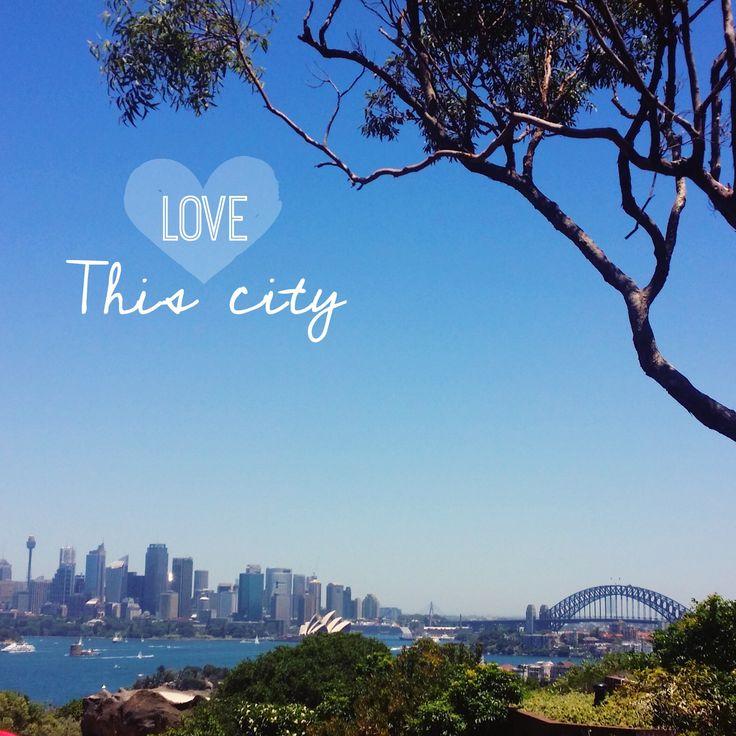 Love this city! sydney