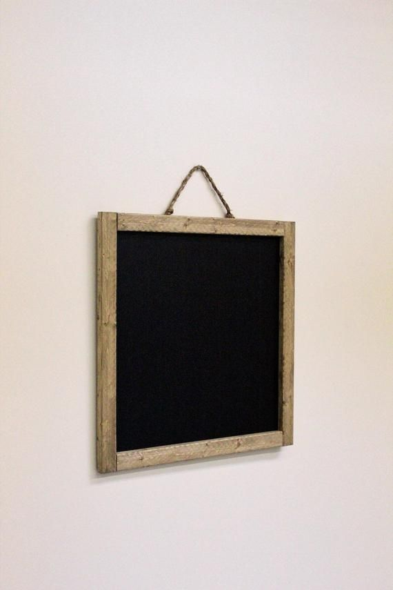 Listing for (1) Reclaimed natural rustic chalkboard frame