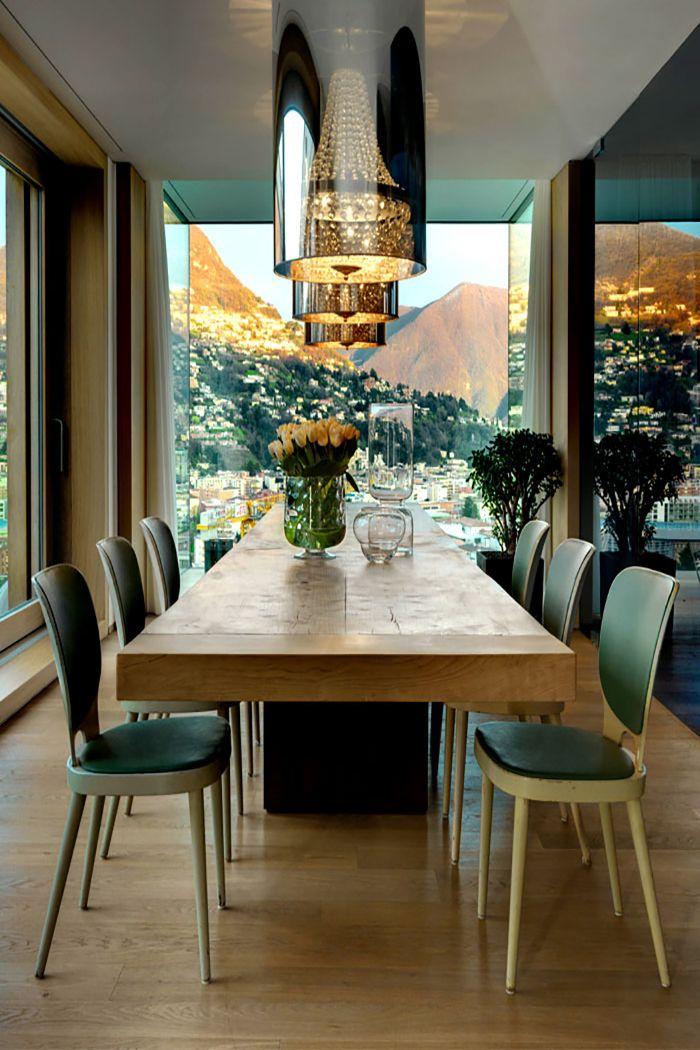 Luxurious and Innovative Condominium that Overlooks the Lugano Lakeshores