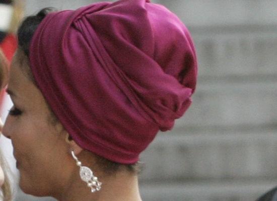 Sheikha Mozah Turban