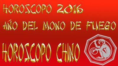 LaPao62 Tu Astróloga : HOROSCOPO CHINO 2016 AÑO DEL MONO DE FUEGO