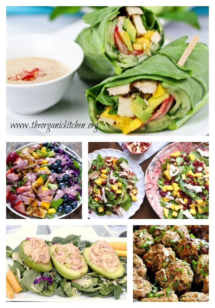 12 Healthy, Delicious (Whole 30) Lunch Recipes! #whole30 #paleo #lunch