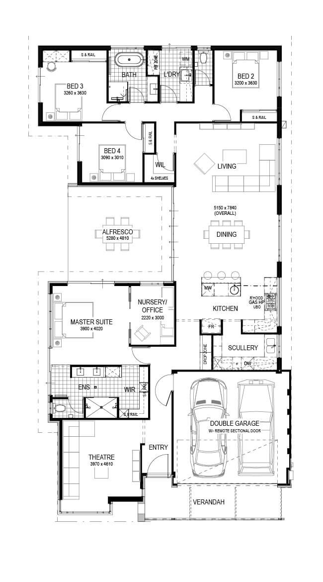 Pin By Holly Jones On Home Floor Plans Home Design Floor Plans Dream House Plans New House Plans