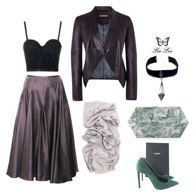 """61"" by leeloo1307 on Polyvore featuring Richards Radcliffe, Topshop, Betty Jackson, Child Of Wild, Rafe и Yves Saint Laurent"