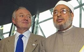 Qaradawi, Ken Livingstone's favourite Islamist, spreads Jew-hatred in Gaza