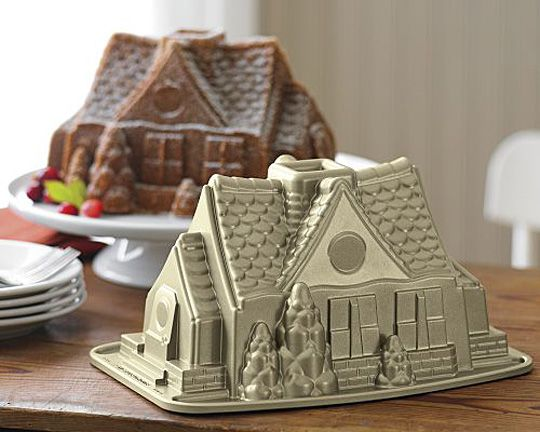 Nordicware Gingerbread House - http://pinterest.com/pin/223561568972330147/