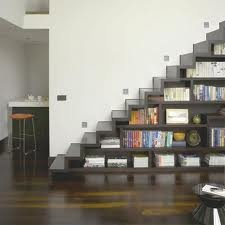 Under stairs shelving!