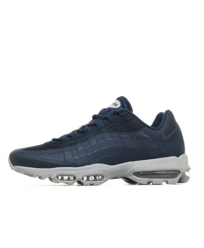 fa61e8bfa8 Nike Air Max 95 Ultra Essential Blue Grey Fashion Trainers | air max ...
