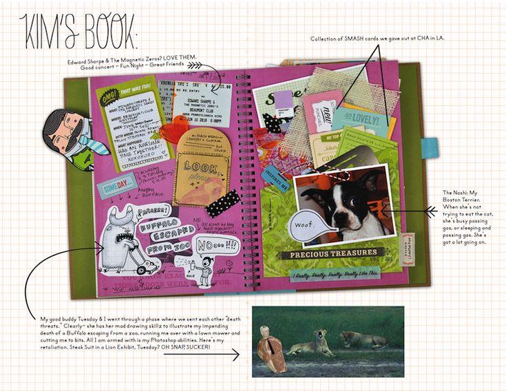 Smash Book layout