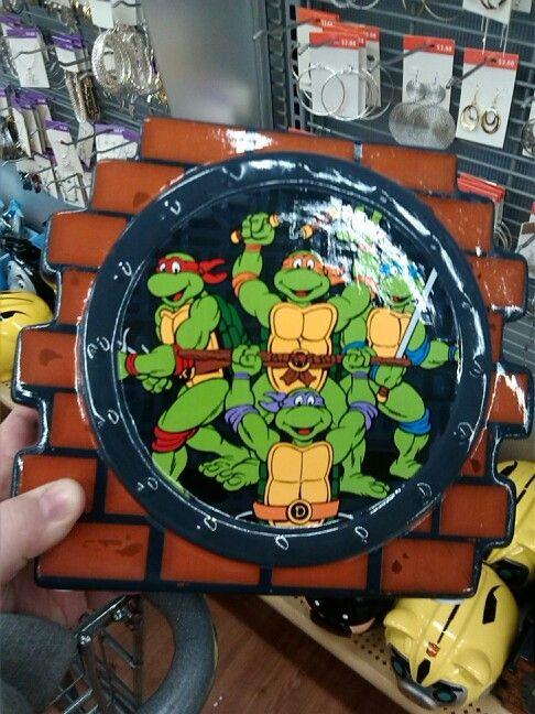 Piggy bank I found at Walmart Teenage mutant ninja turtles