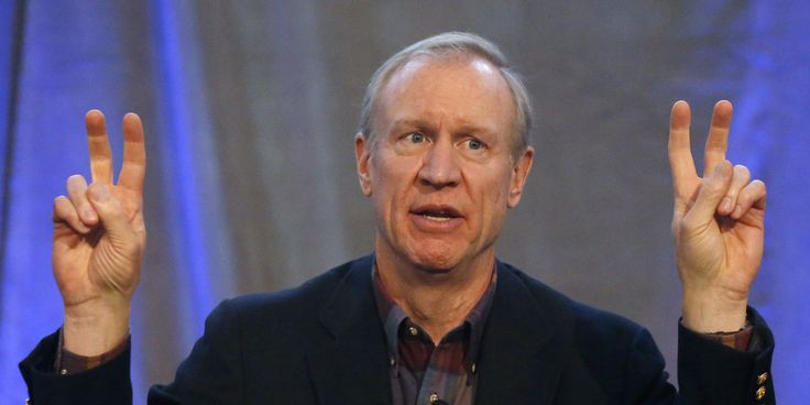 Illinois Gov. Rauner Projects His Hypocritical Conflict of Interest on Democrats and Unions