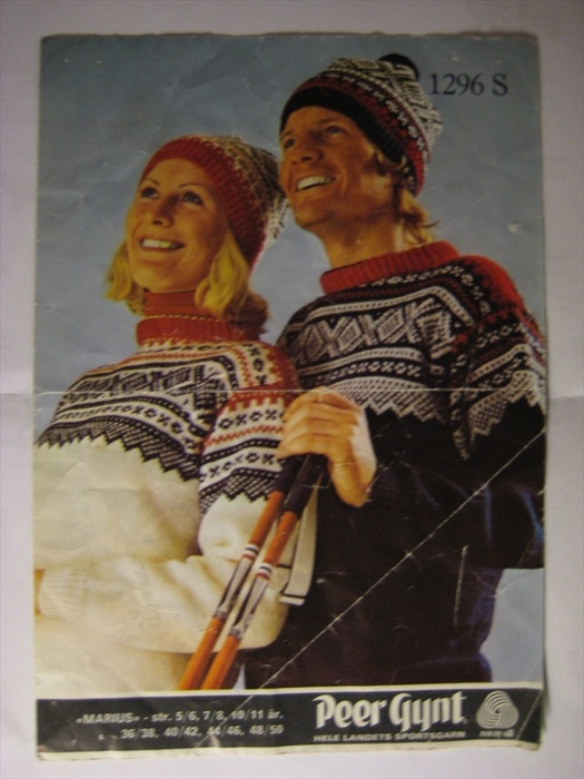 Mariusgenser, the traditional norwegian sweater :]