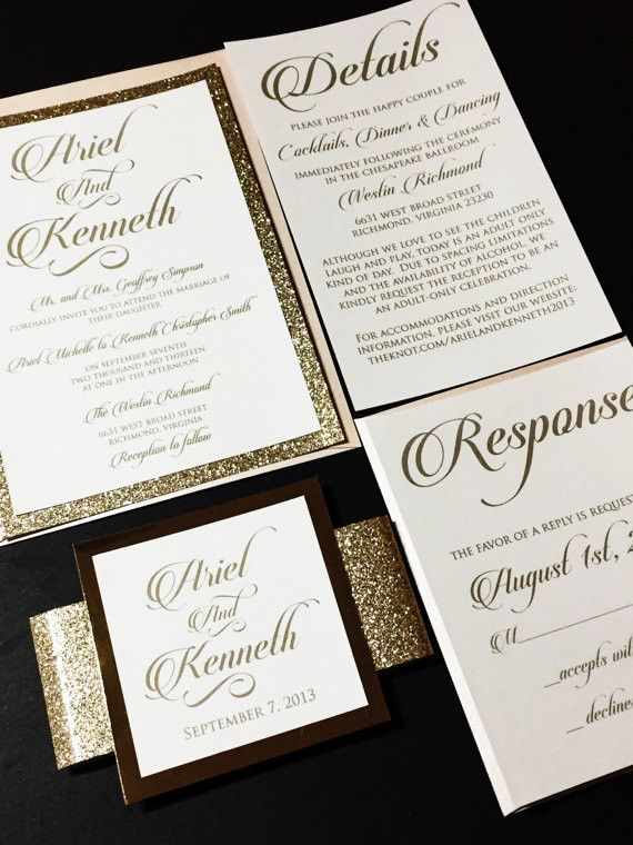 591 best Rustic Wedding Invites images on Pinterest Invitations - invitation non formal