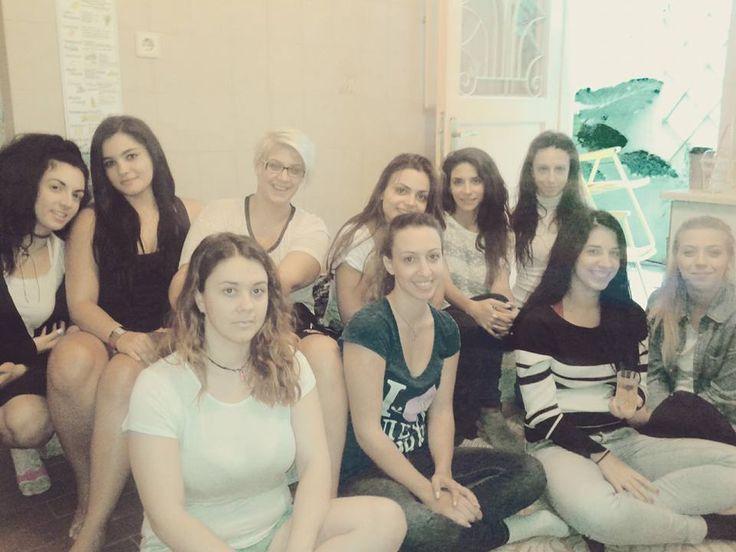 Φωτογραφία σε διάλειμμα από σεμινάριο - Photos from tea break during a workshop!