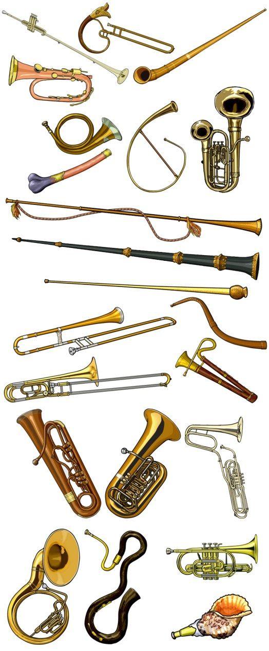 aerophone / brass instruments
