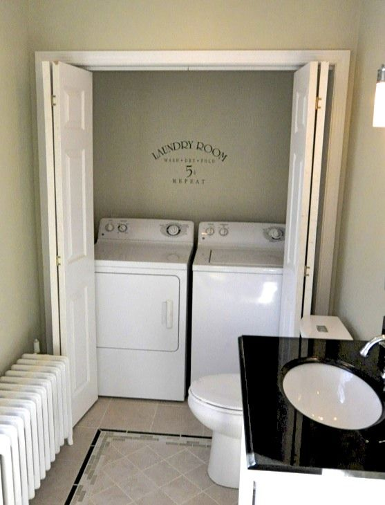 best 25 laundry in bathroom ideas only on pinterest