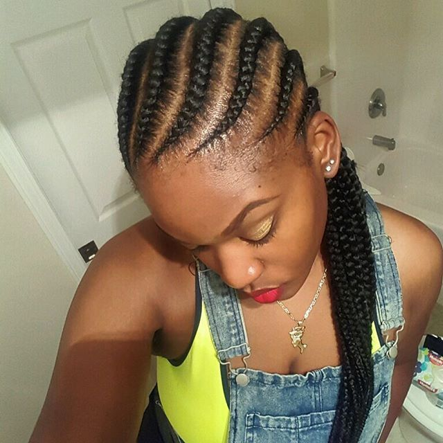 latest ghana weaving hairstyles (5)