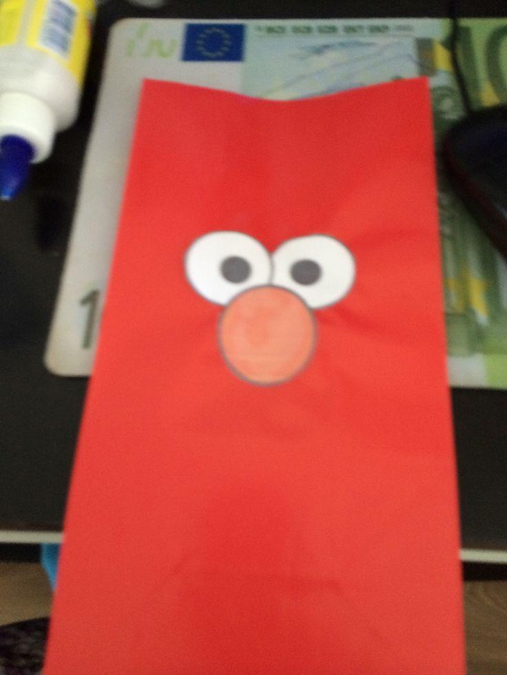 Elmo zakjes / Elmo bags