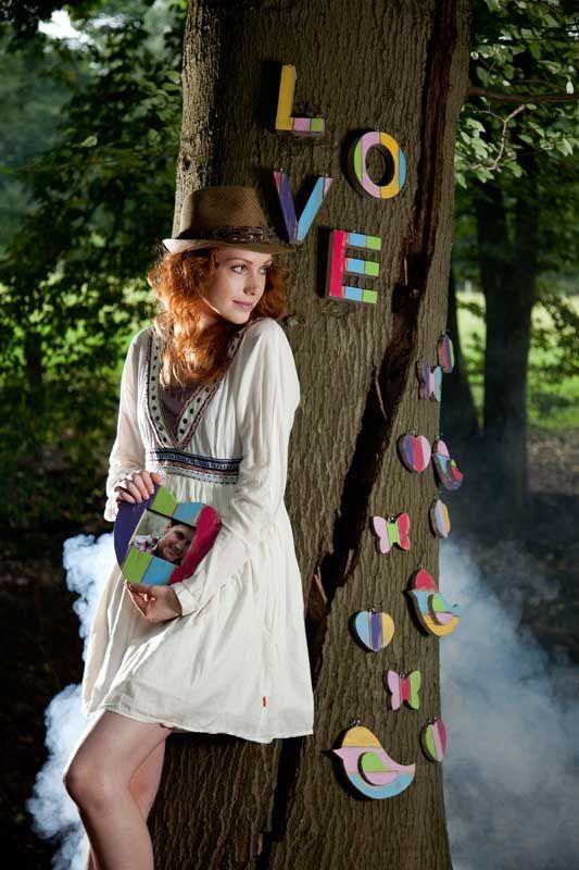 Maak prachtige liefdevolle creaties met de  houten letters, cijfers en accessoires van Roots.