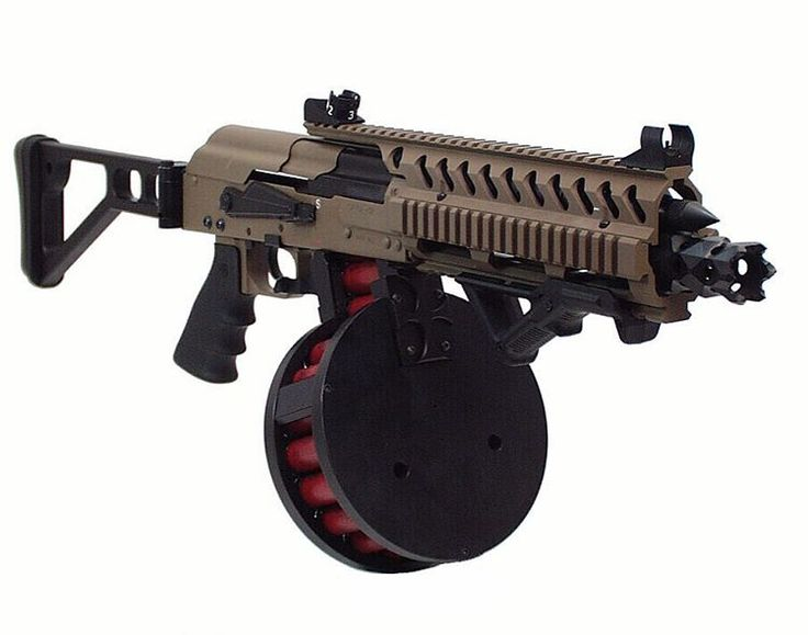 Bosch's Saiga-12Loading that magazine is a pain! Get your Magazine speedloader today! http://www.amazon.com/shops/raeind