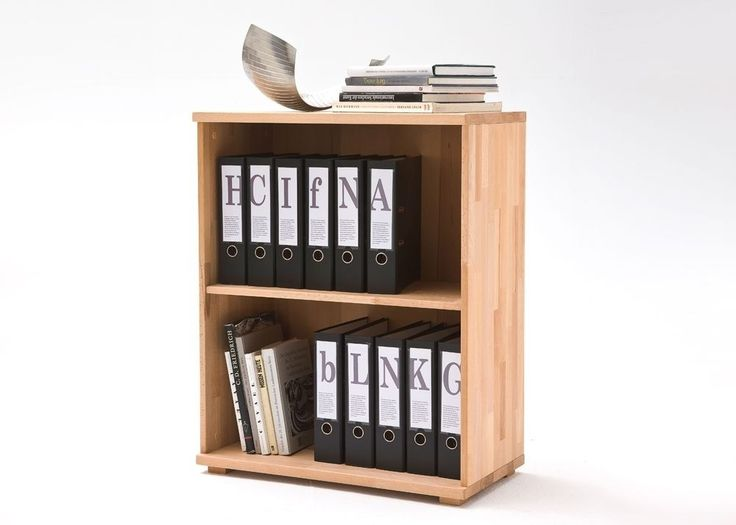 Aktenregal Cento Büroregal Kommode Holz Kernbuche Massiv Geölt 7423. Buy  Now At Https:/